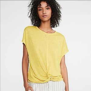 LOFT | Lou & Grey Linen Twist Front Top